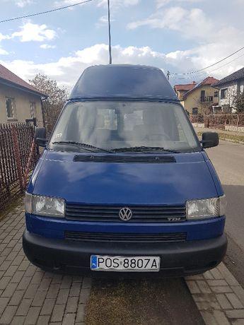 Sprzedam Volkswagen Transporter T4, 2,5 tDi, klima, long i wysoki dach