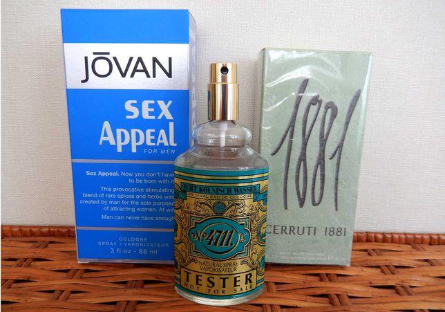 Cerruti 1881 Pour Homme, Jovan Sex Appeal,Maurer & Wirtz 4711 Cologne