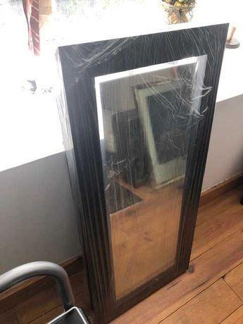 Espelho armação preta