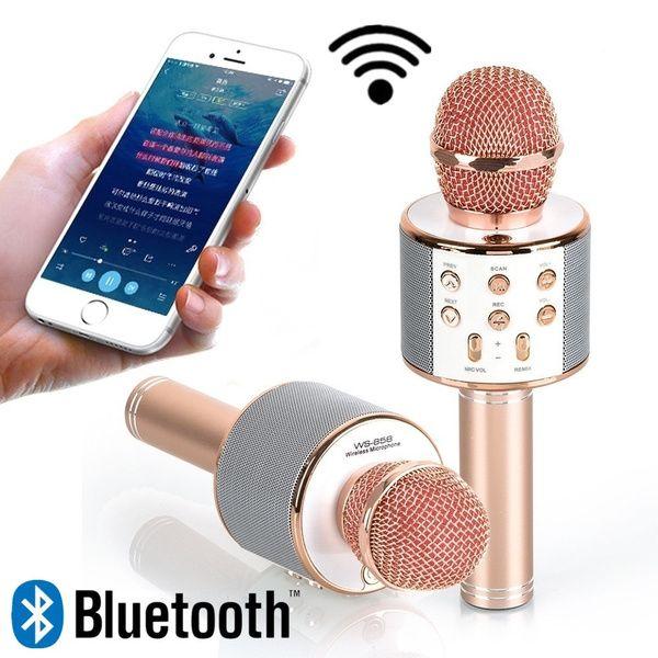 Microfone Para Karaoke Portátil Bluetooth Margaride (Santa Eulália), Várzea, Lagares, Varziela E Moure - imagem 1