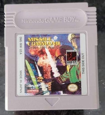 Jogo missile command para Gameboy