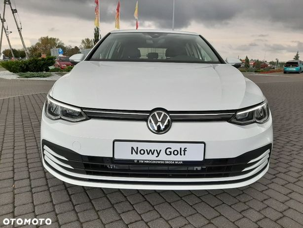 Wypozyczalnia Samochodu Wynajem Rent Volkswagen Golf 8 VIII Leszno Gó