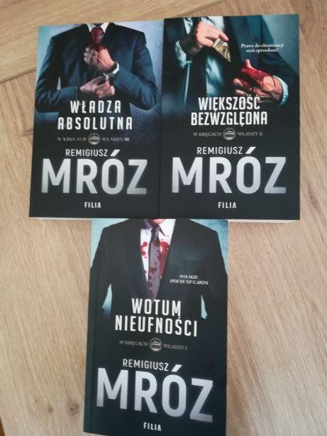Książki Remigiusz Mróz