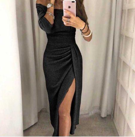 Сяюча вечірня сукня