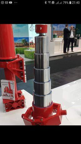 Завод изготавливает гидроцилиндры HIVA, BINOTO, PENTA. 40 тонн.