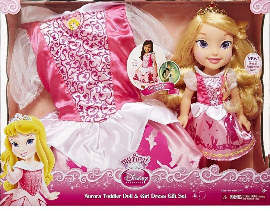 Disney Princess Aurora Toddler laleczka & sukienka dla dziewczynki Sulejówek - image 1