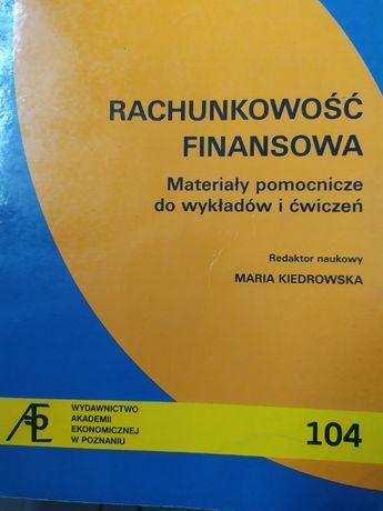 Rachunkowość finansowa - Maria Kiedrowska