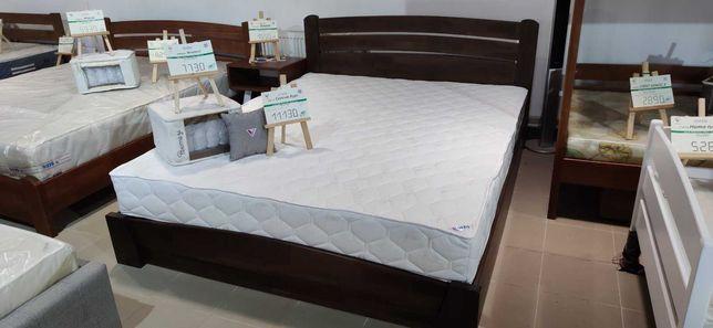 Ліжко деревяне букове, доставка на відділення безкоштовна.