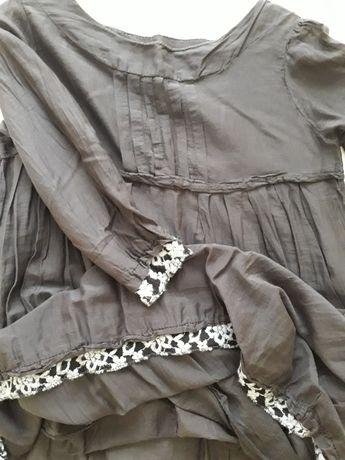 Włoska Sukienka oversize