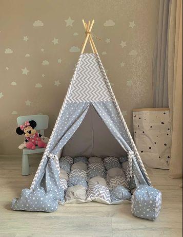 Игровой домик, детская палатка вигвам. В наличии разные расцветки.