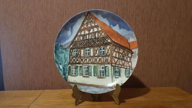 Коллекционная тарелка Kaiser W.Germany Lions Club Диаметр 25.5 см