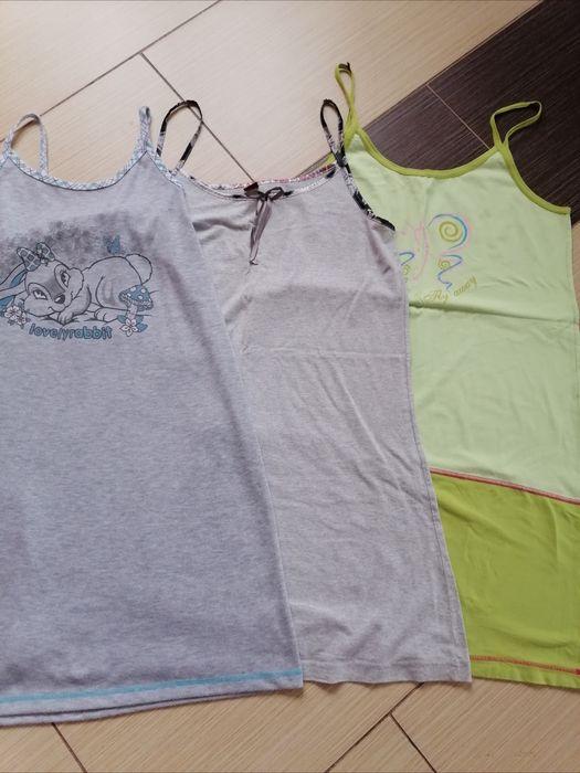 3 koszulki na ramiączkach r. L/XL Kurianki Drugie - image 1