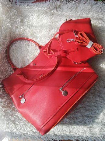 Torba damska (czerwona)