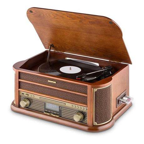 Wieża Belle epoque bt,CD, usb gramofon  auna