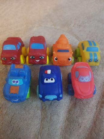 Gumowe samochodziki