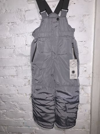 Полукомбинезон зимние штаны унисекс
