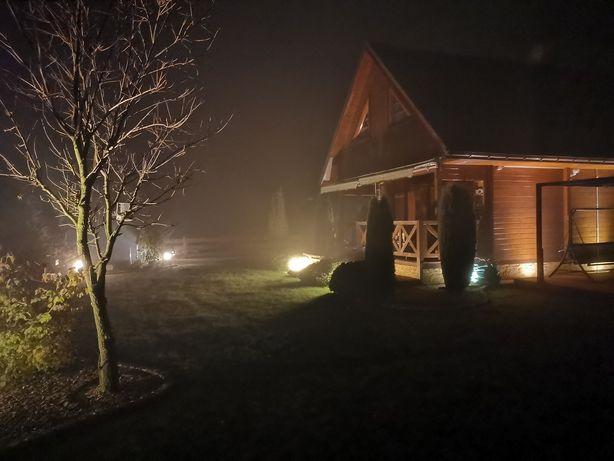 Nowoczesny Dom Drewniany z bali