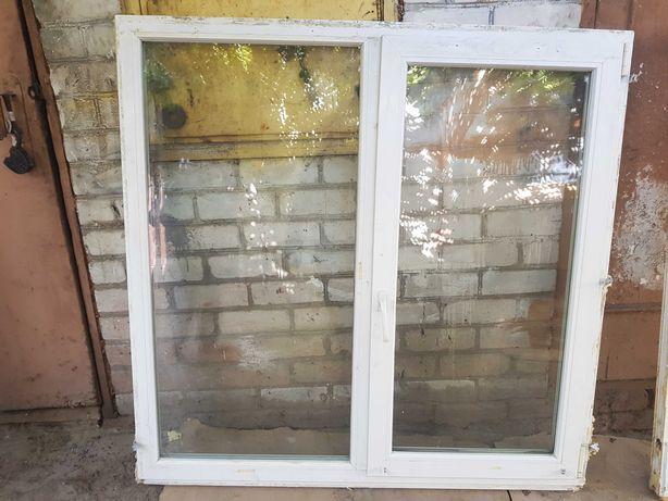 Окно металопластиковае 2 стекла
