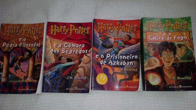 Coleção livros Harry Potter