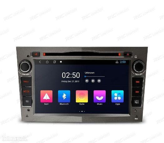 AUTO RADIO GPS ANDROID 10 CINZA OPEL ASTRA H / VIVARO / ZAFIRA / VECTRA / CORSA D