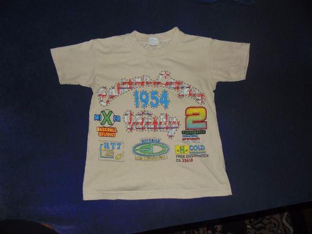 футболка на мальчика 5-7 лет