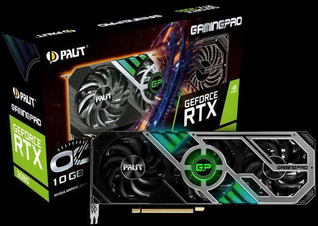 ВІдеокарти Palit GeForce RTX 3080 GamingPro 10GB LHR