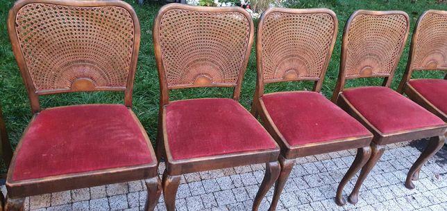 Krzesła barok chippendale