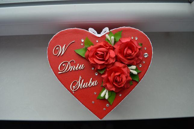 Pudełko prezentowe na ślub