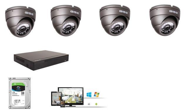 Zestaw 4 kamer 4,6,8,16 UltraHD 5mpx 2560x1944p Kamery Chrzanów