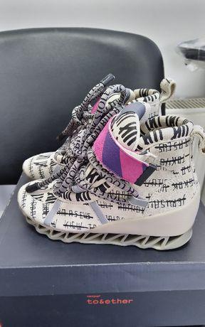Новые кроссовки Camper Together x Bernhard Willhelm Himalayan ботинки