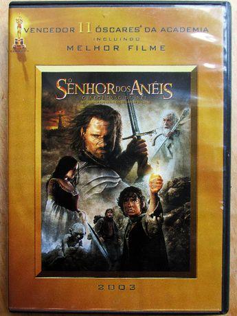 DVD duplo - O Senhor dos Anèis - como novo