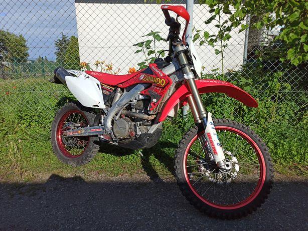 HONDA HM Moto F450 Honda CRF 450 X zarejestrowany