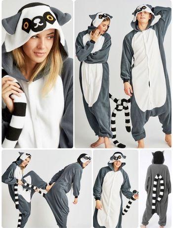 Кигуруми пижама Лемур оригинал в наличии !