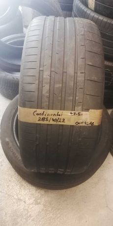 285 40 R22 Continental 2szt z Niemiec NAJTANIEJ lato LUMI