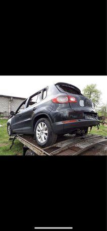 VW Tiguan 2.0 tdi кузов + доки УА номера на учоте Тигуан пожар обмен