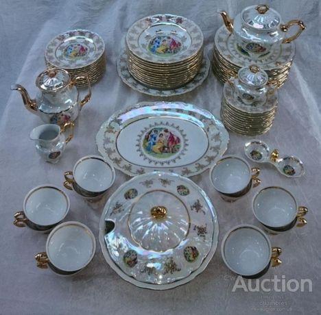 Столовый сервиз Фарфор Мадонна Priuce Porcelain Original Czech 72 пред