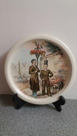 Фарфор Бельгии  Коллекционная тарелка