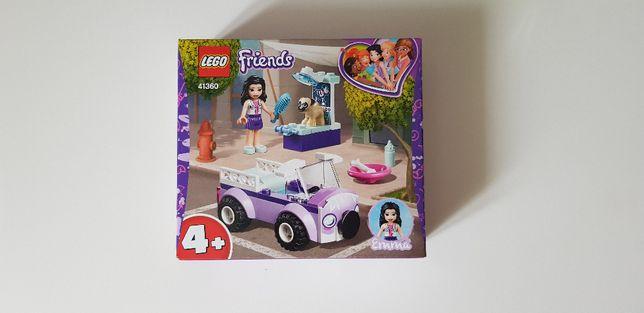 Nowe lego Friends mobilna klinika weterynaryjna Emmy 41360