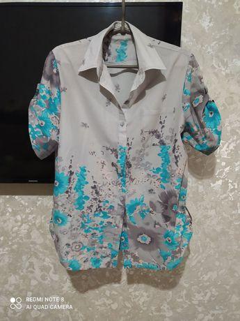 Продам рубашку, блузку размер 48