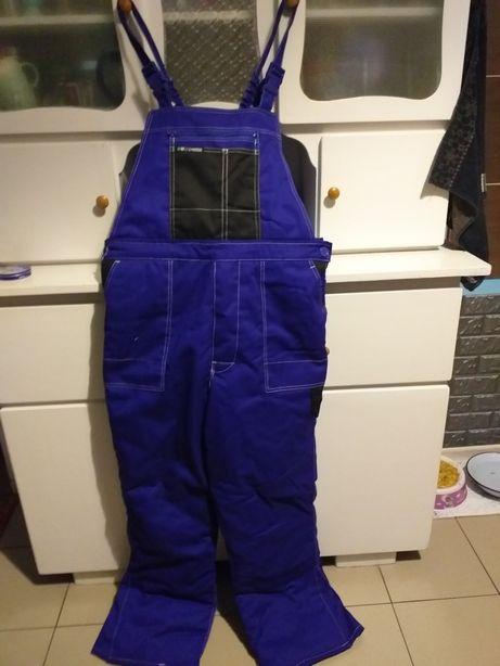 Ocieplane spodnie robocze Reis