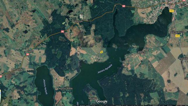 Działki przy szlaku Wielkich Jezior Mazurskich w Wejdykach