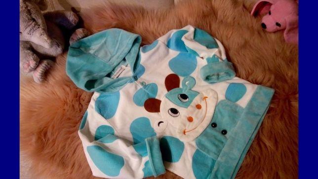 173.KEAYOUHNO-wspaniała welurowa bluza