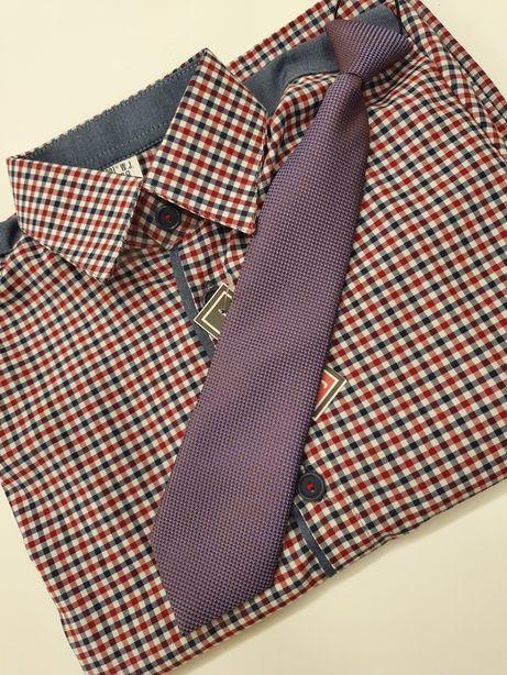 Koszula chłopięca 110 cm + krawat