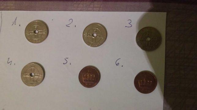 Norwegia - monety do kolekcji