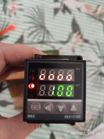 Regulator temperatury REX - C100 komplet z czujnikiem temperatury.