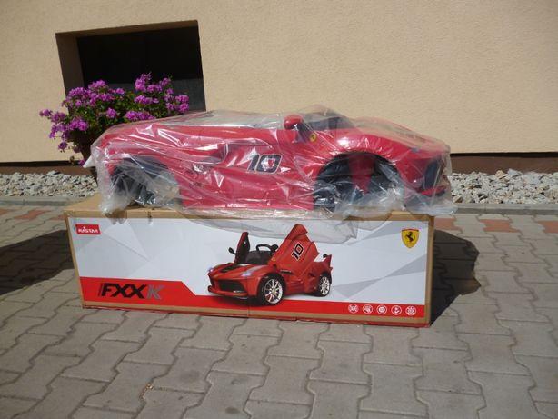 Ferrari autko elektryczne dla dziecka sterowane pilotem 12v 7Ah