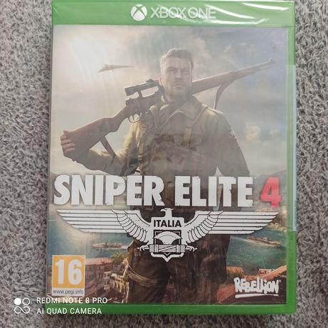 Sniper Elite 4 PL Nowa w foli xbox one, xbox series