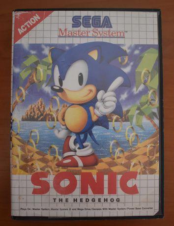 Sega Master System Sonic The Hedgehog Usado