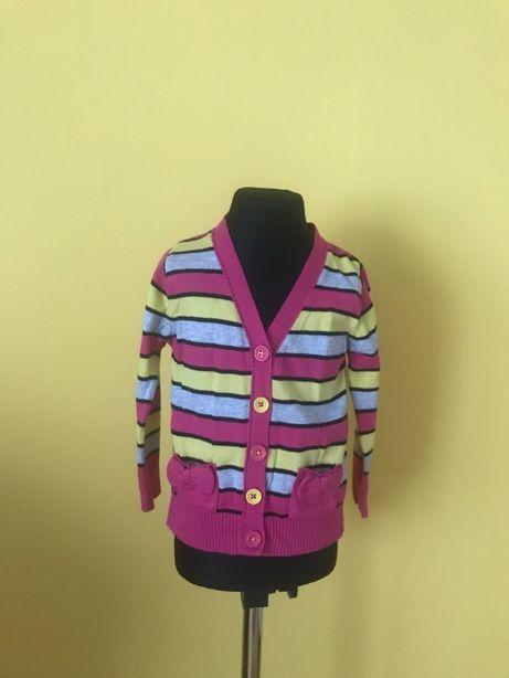 Sweterek dziewczęcy 2-3 latka (98cm)