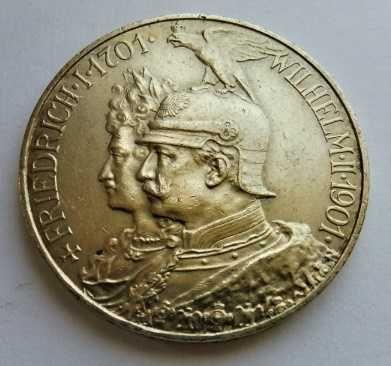 Prusy - 5 marek 1901 - rocznica panowania